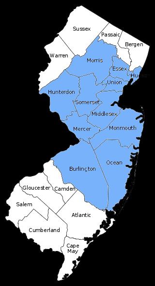 Apex Service Area Map